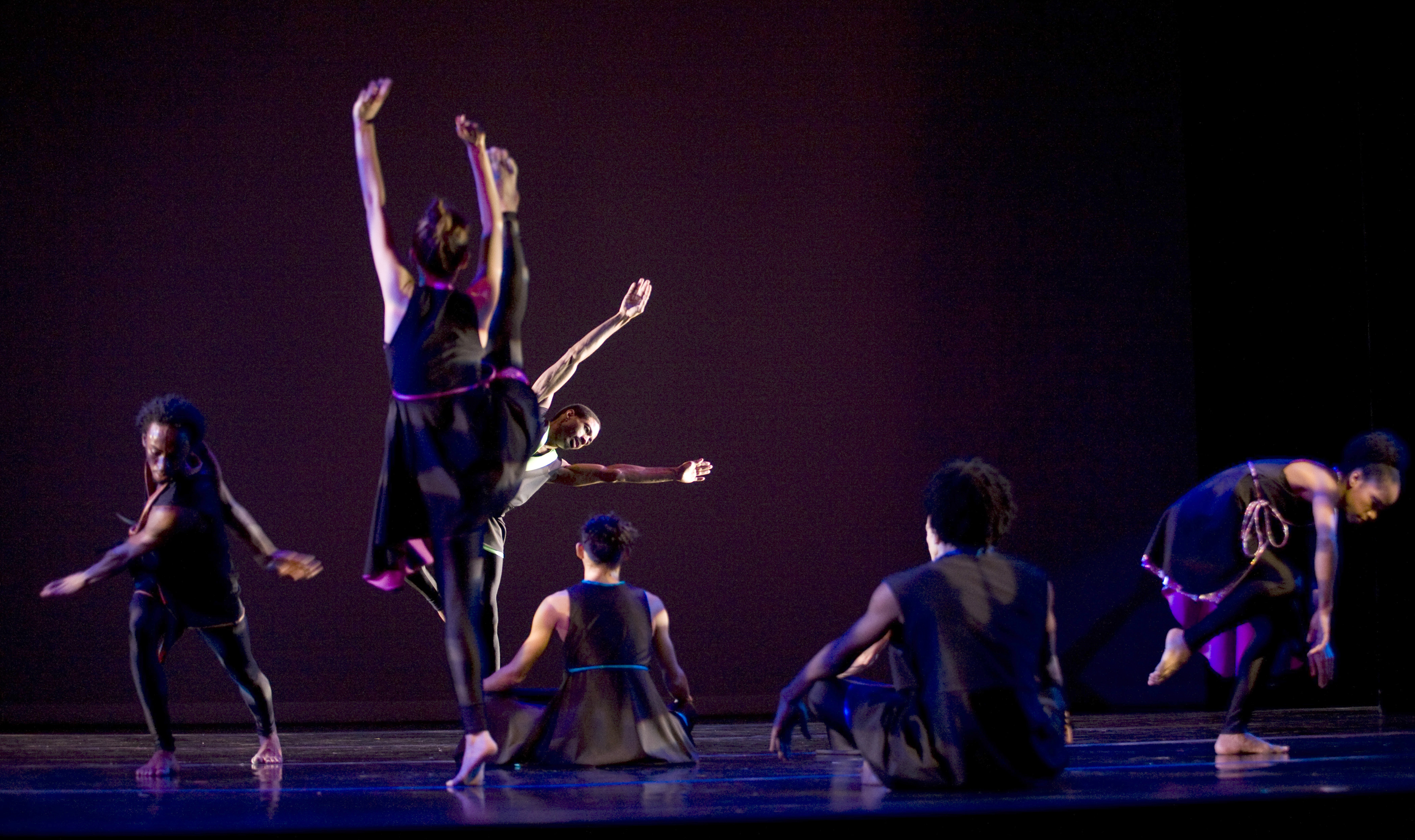 Garth Fagan Dance photo by Greg Barrett in EDGE/JOY