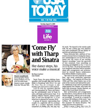 'Come Fly' with Tharp and Sinatra