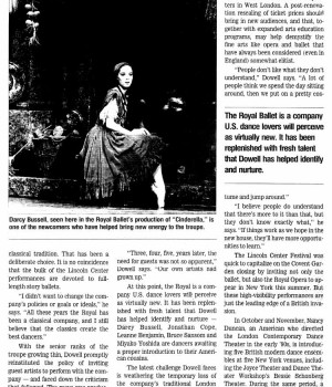 An 'aristocrat of dance' spearheads Royal Ballet's return