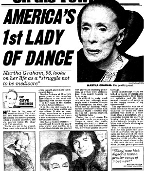 America's 1st Lady of Dance