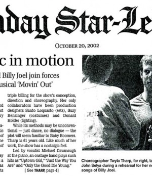 Pop music in motion