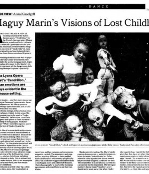Maguy Marin's Visions of Lost Childhood