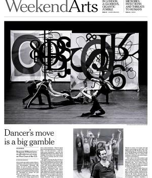 Dancer's move is a big gamble