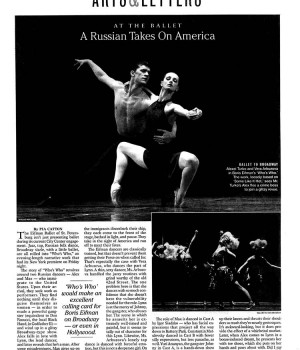 A Russian Takes on America