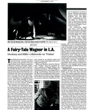 A Fairy-Tale Wagner in L.A.