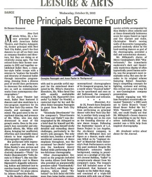 Three Principals Become Founders