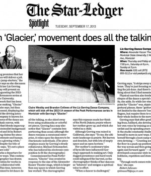 With 'Glacier' movement does all the talking