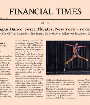 Garth Fagan Dance, Joyce Theater, New York – review