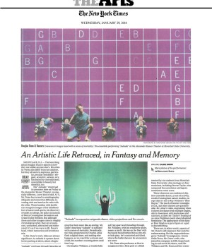 An Artistic Life Retraced, in Fantasy and Memory