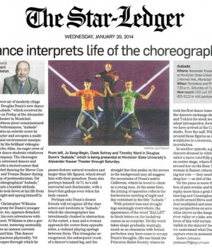 Dance interprets life of the choreographer