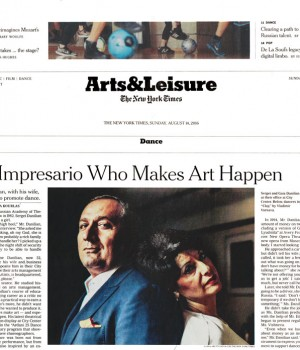 An Impresario Who Makes Art Happen