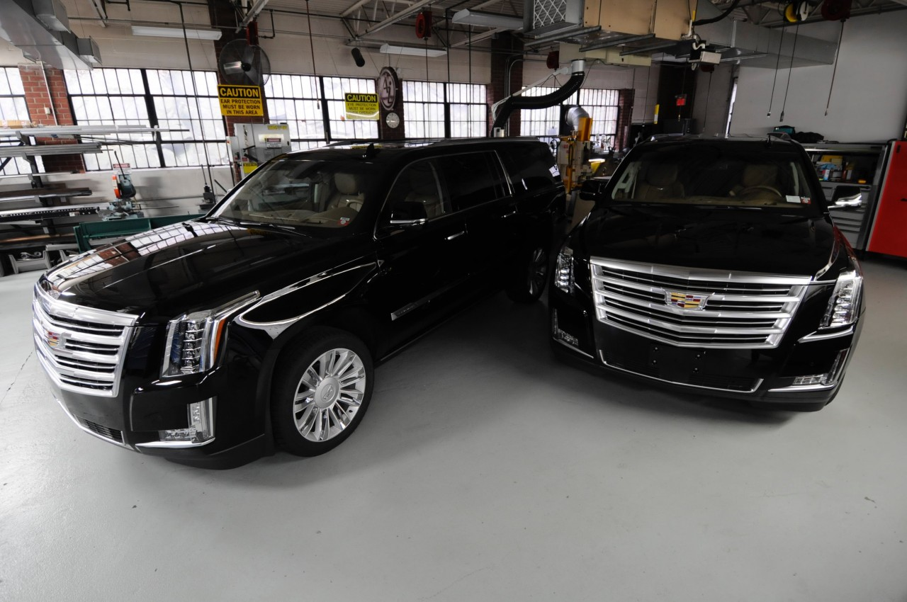 ... Tuckahoe Studio Workshop Where It, Along With Its Identical Twin, Beast  2, Has Spent The Past Two Years Being Transformed From A 2015 Cadillac  Escalade ...