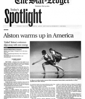 Today's Spotlight: Alston warms up in America