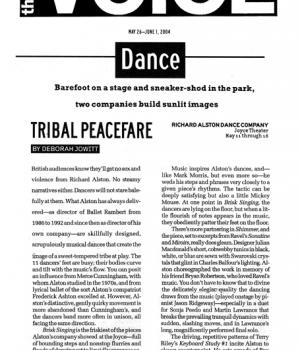 Tribal Peacefare