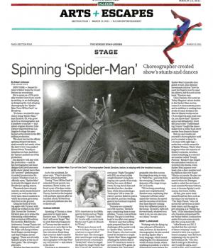 "Spinning ""Spider-Man"""