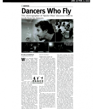Dancers Who Fly