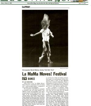 La MaMa Moves! Festival