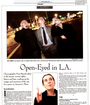 Open-Eyed in L.A.