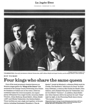 Four kings who share the same queen