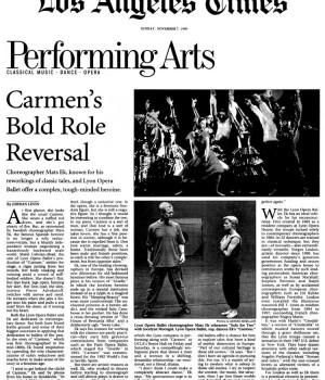 Carmen's Bold Role Reversal