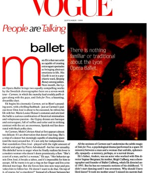 People are Talking: ballet