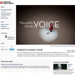meredith monk's voice