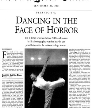 Dancing in the Face of Horror