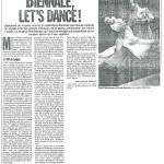 Biennale Let's Dance!
