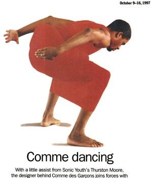 Comme dancing