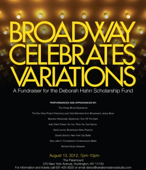 Broadway Celebrates Variations