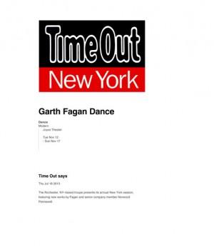 Garth Fagan Dance at The Joyce