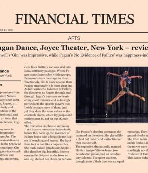 Garth Fagan Dance, Joyce Theater, New York – review