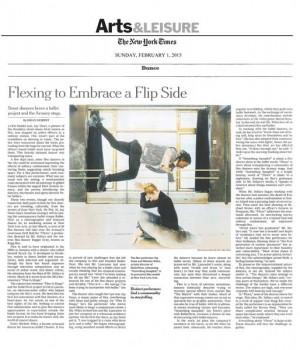 Flexing to Embrace a Flip Side