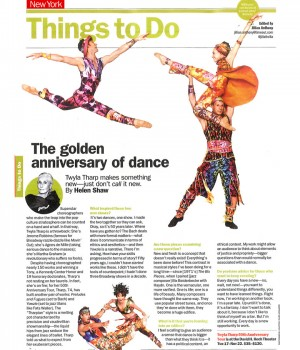 The Golden Anniversary of Dance