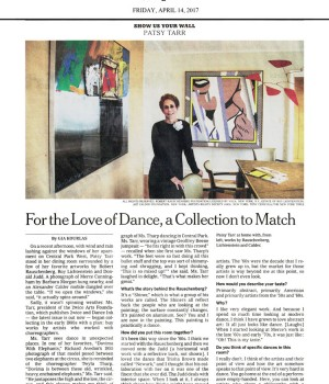 For the Love of Dance, a Collection to Match